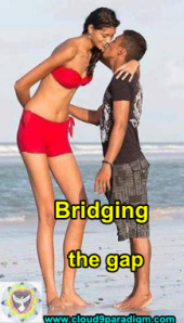 BridgingTheGap_tall_short_kiss