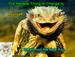 Lizard_Hardest thing to chang is Yourself